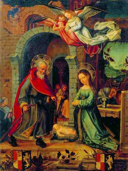 La Nativitat. Pere de Fontanes, 1500-1518. MEV 1273