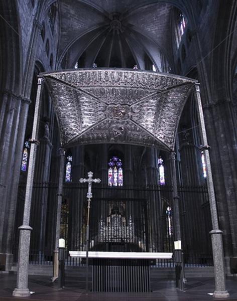 Baldaquí de la Catedral de Girona (segle XIV)