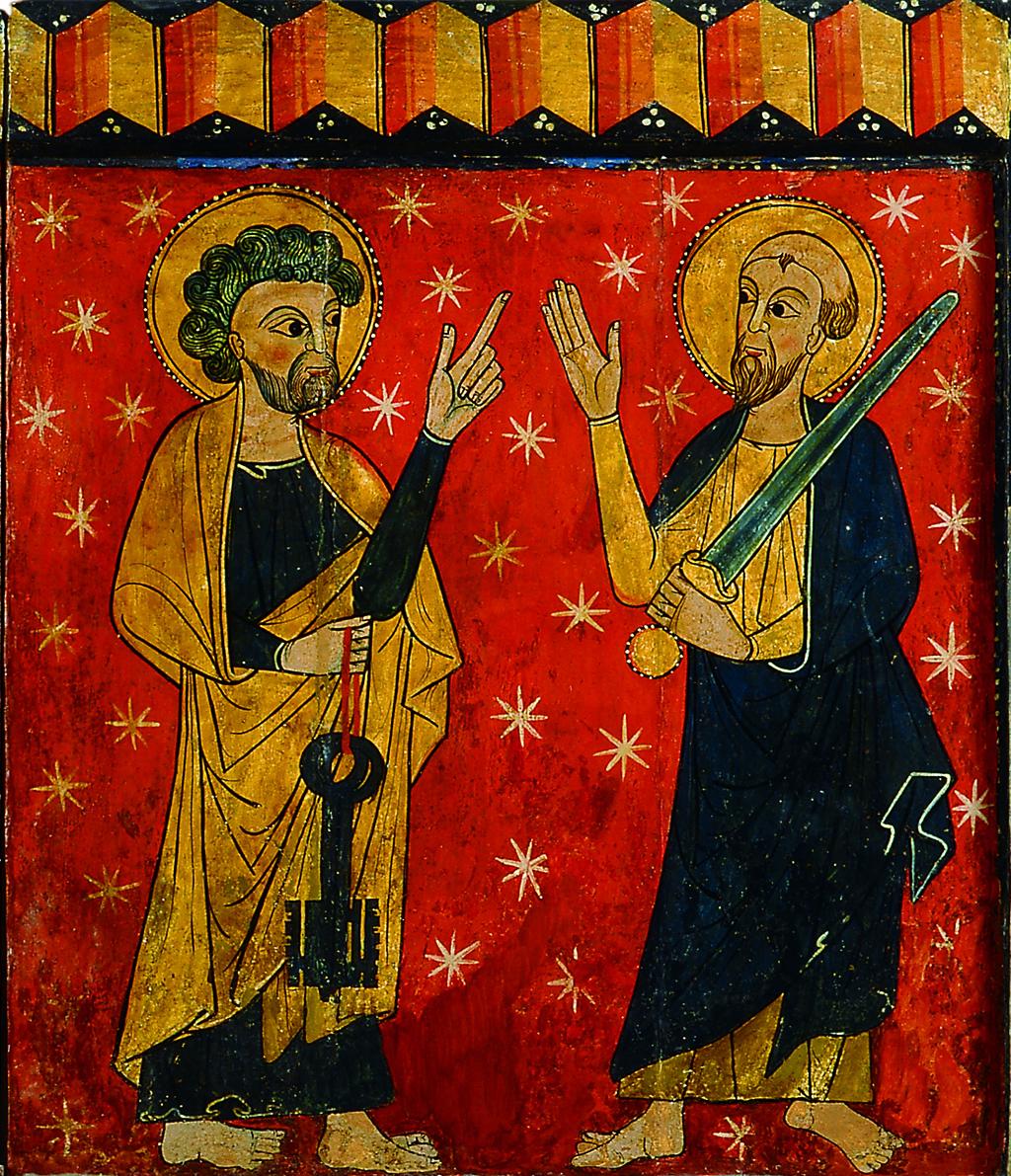 Lateral de Soriguerola amb Sant Pere i Sant Pau