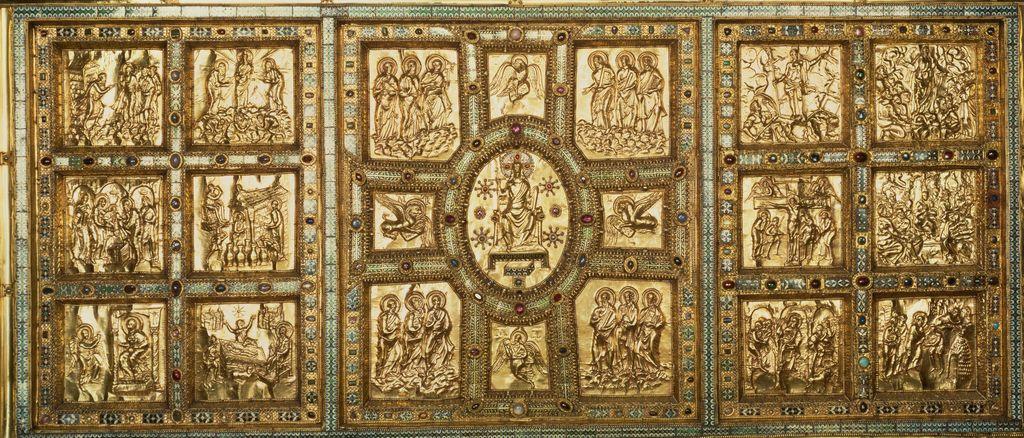 Altar de Wolvinius a Sant Ambròs de Milà (s. IX)