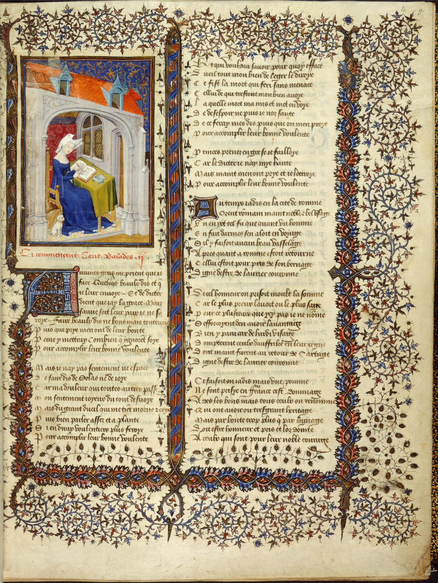 Christine de Pizan. El llibre de la reina. c.1410-14. Harely MS 4431, British Library