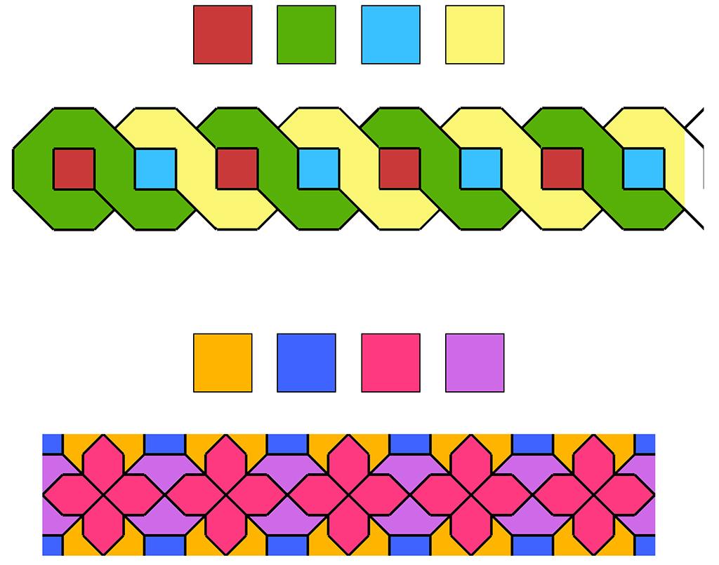 Exemples per utilitzar la paleta de colors